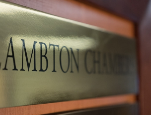Lambton Chambers welcomes new members